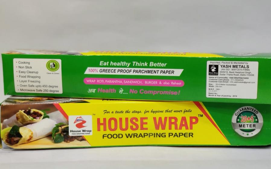 FOOD WRAPPING PAPER 25MTR
